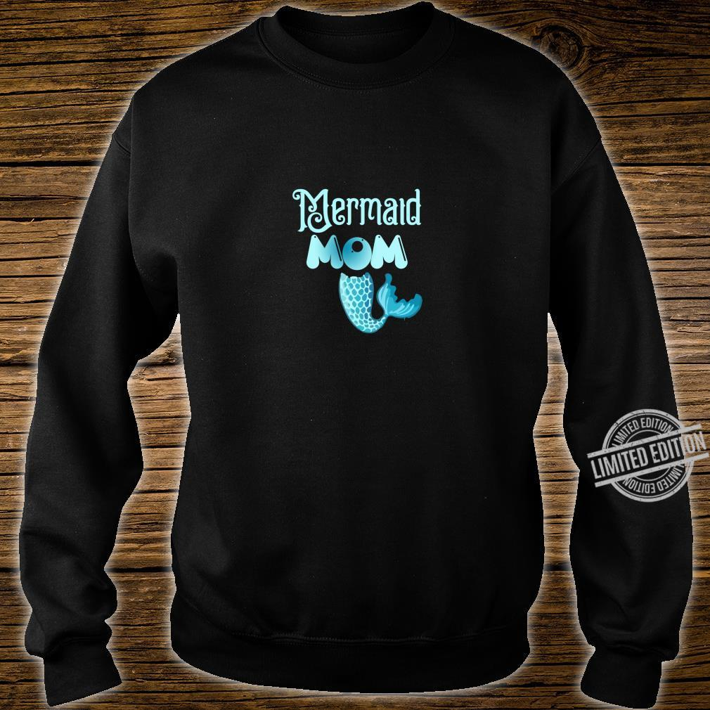 Mermaid Mom Birthday party family Shirt sweater