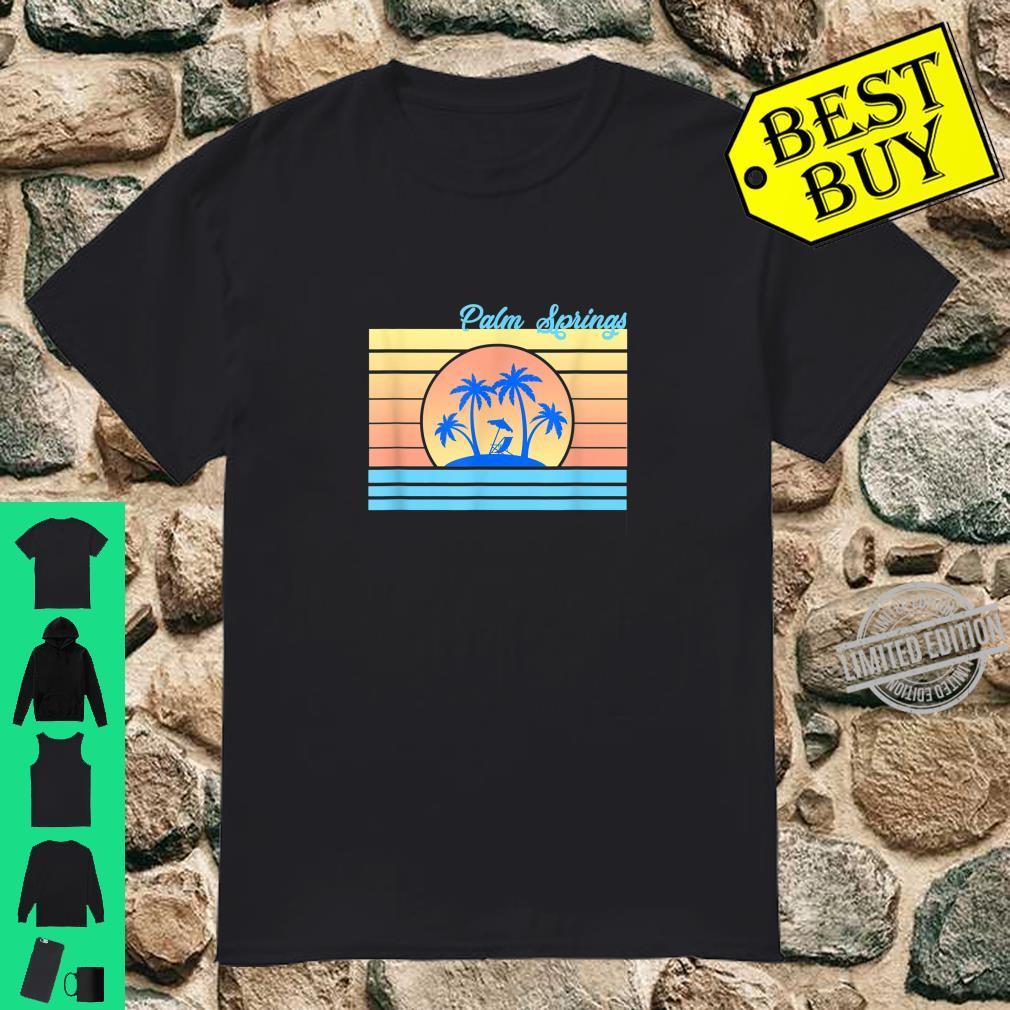 Palm Springs Vacation 80's Pastel Travel Holiday Souvenir Shirt