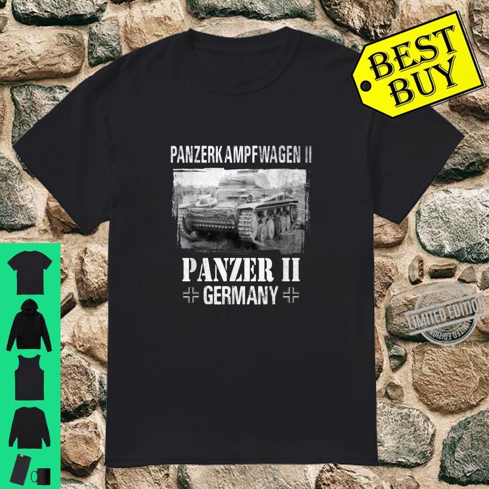 Panzer II German Tank Military Vehicle WW 2 German Panzer Shirt