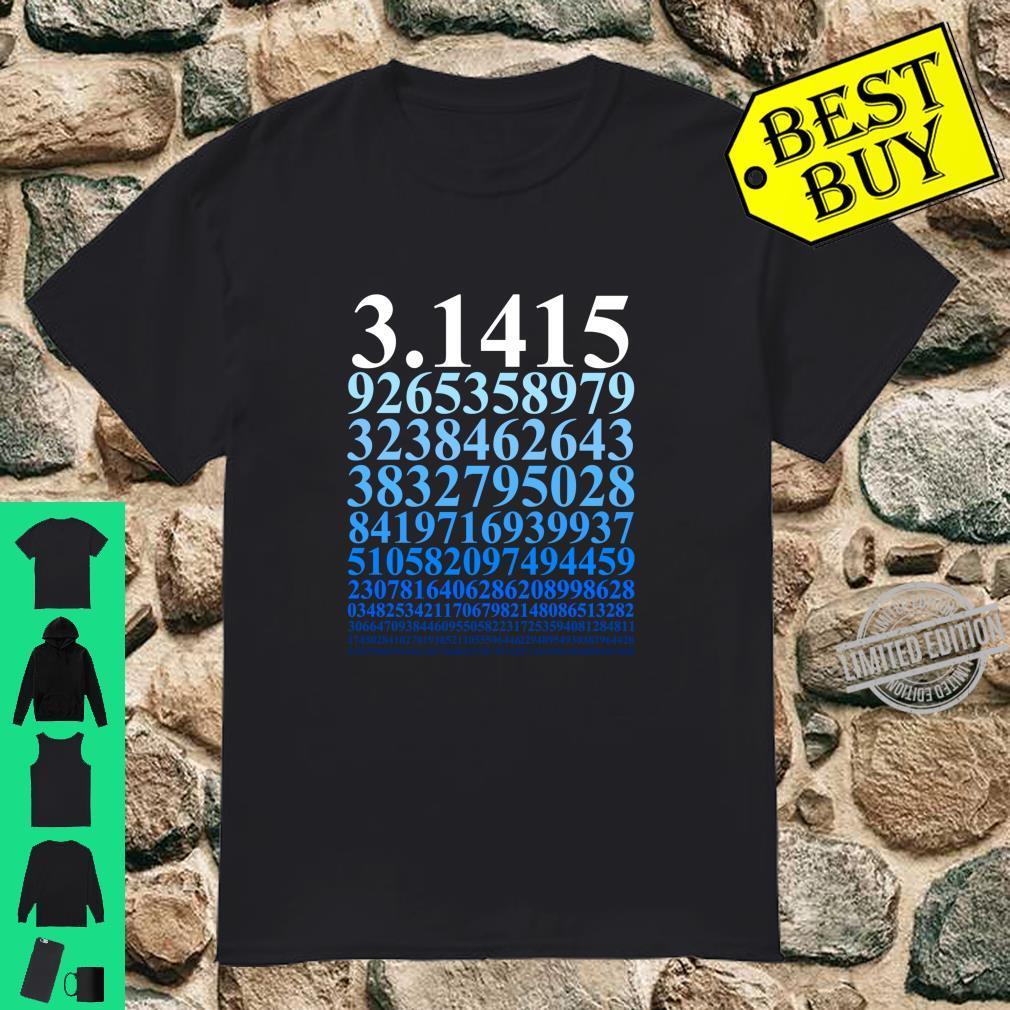 Pi Zahl Mathe Mathematik Mathelehrer Nerd Geek Physiker Langarmshirt Shirt