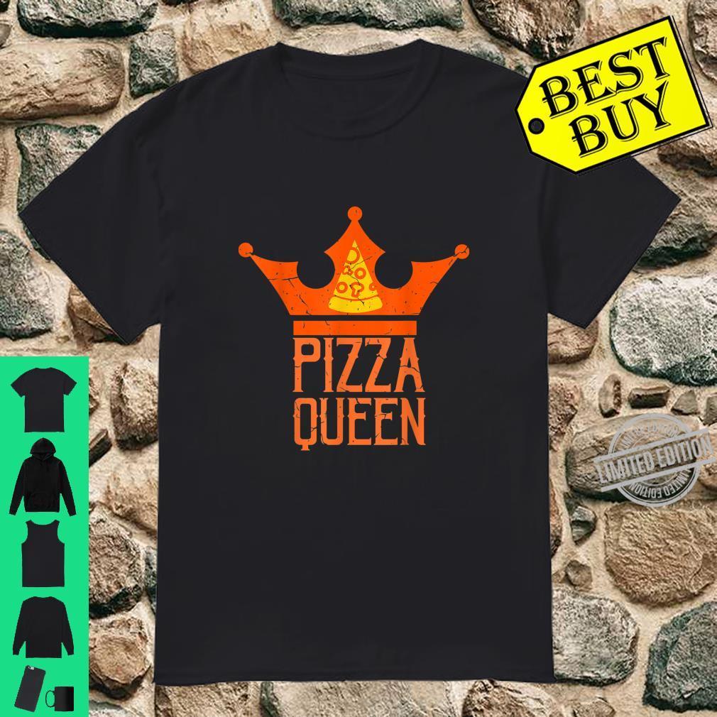 Pizza Frauen Pizzaliebhaber Köchin Geschenk Shirt