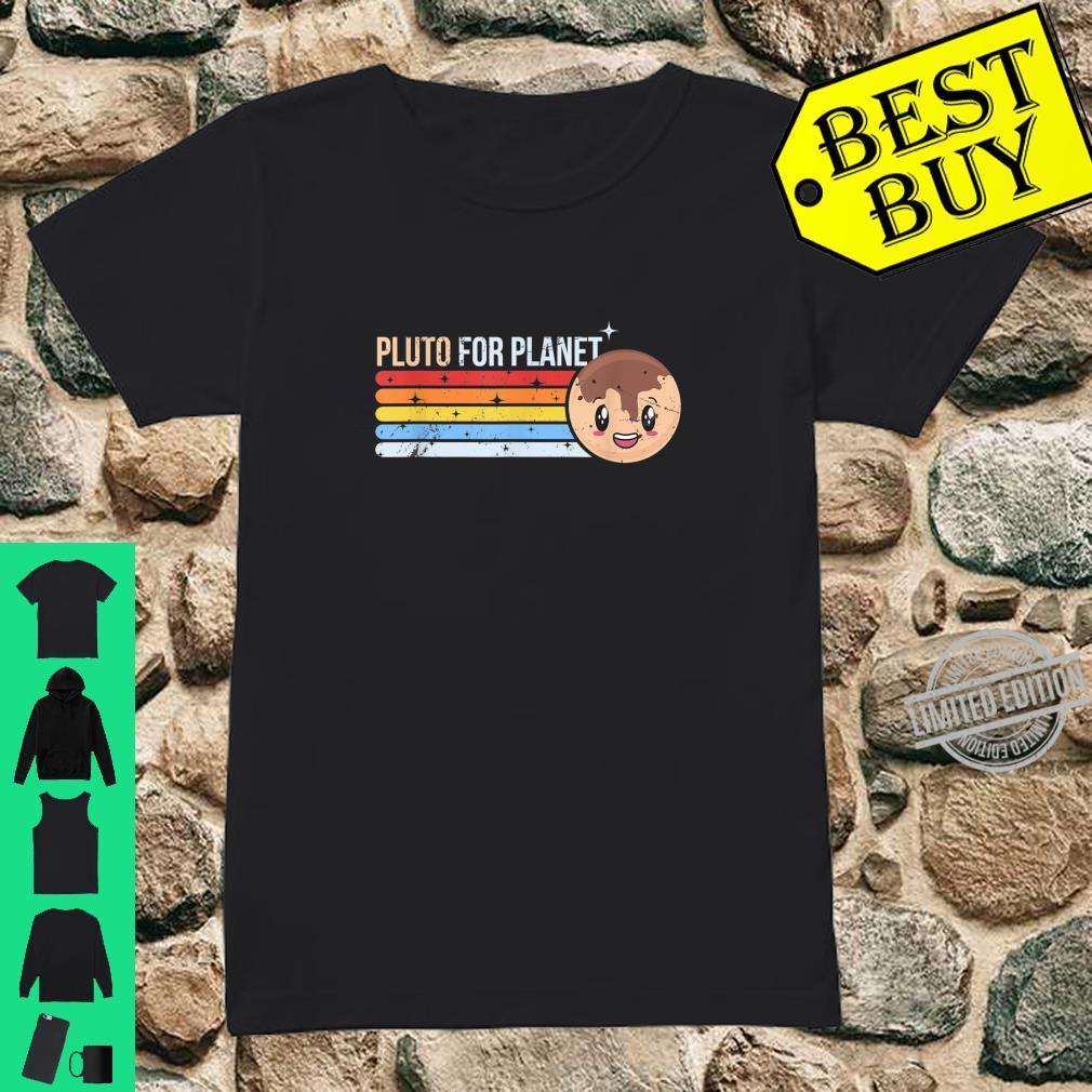 Pluto for Planet Planetary Science Astronomy Idea Shirt ladies tee