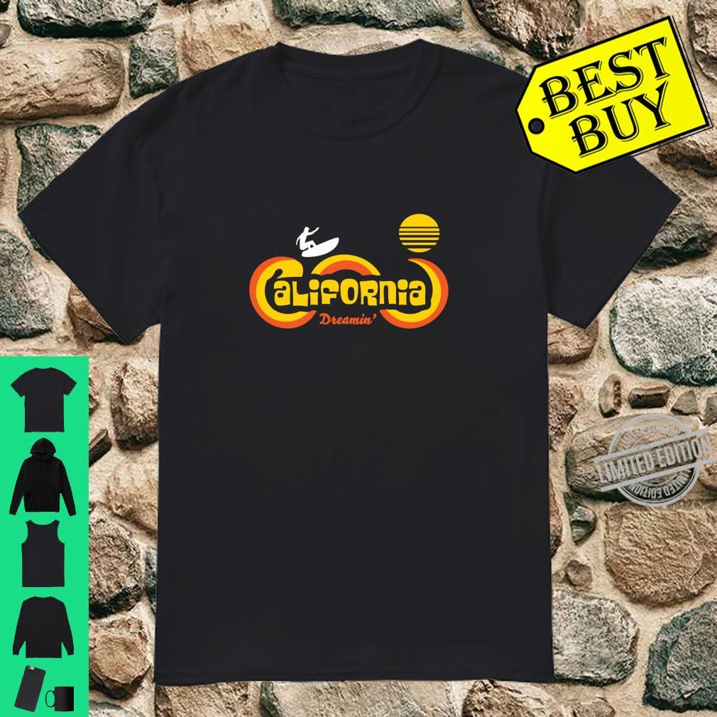 Retro 70's California Surf and Sun Souvenir Apparel Shirt