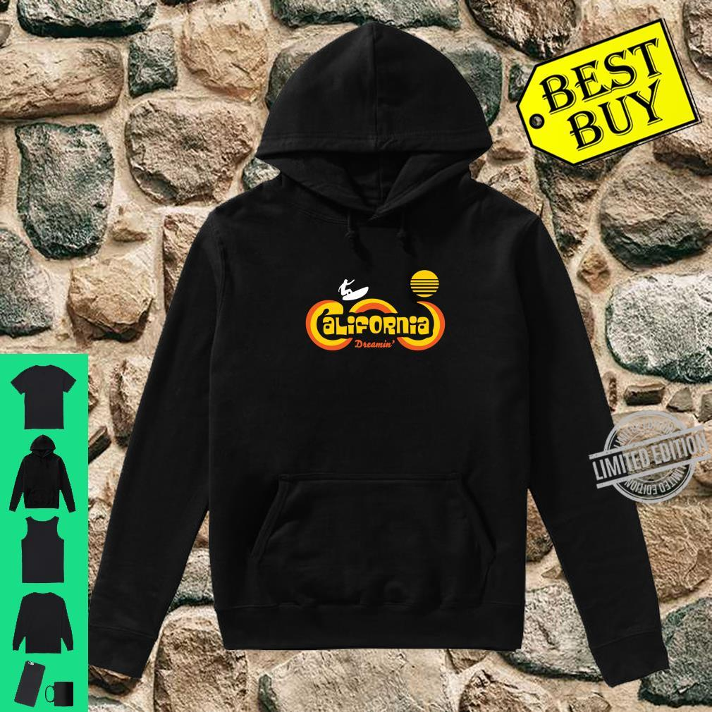 Retro 70's California Surf and Sun Souvenir Apparel Shirt hoodie