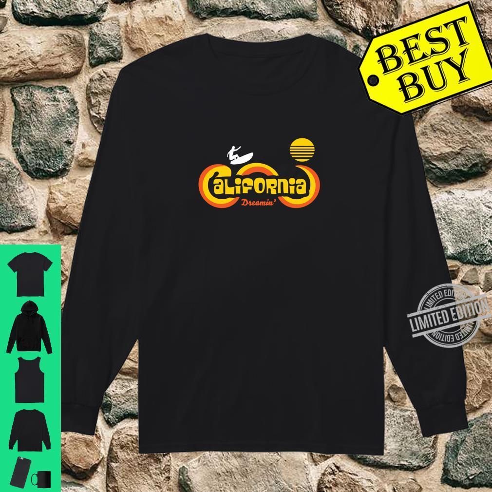Retro 70's California Surf and Sun Souvenir Apparel Shirt long sleeved