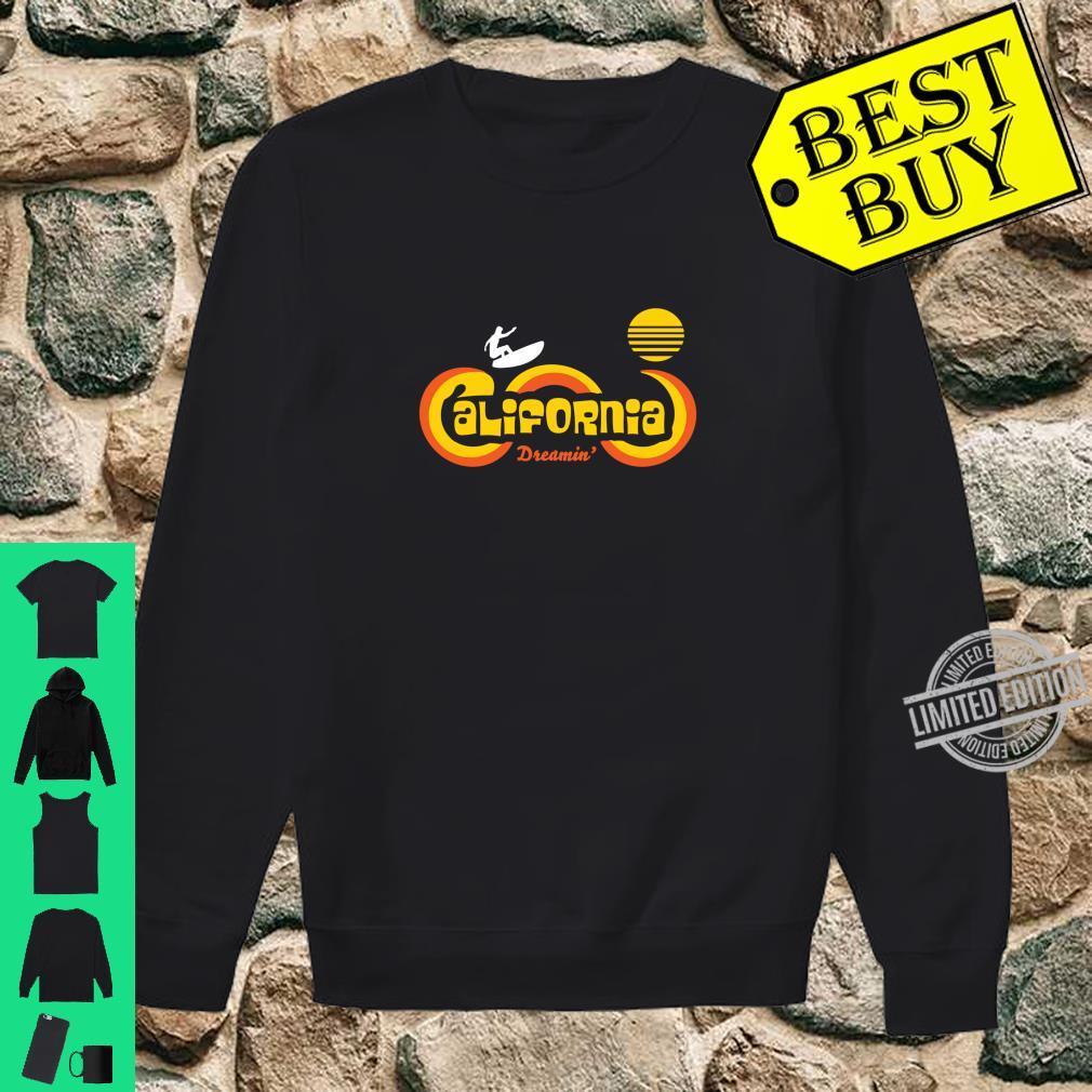 Retro 70's California Surf and Sun Souvenir Apparel Shirt sweater
