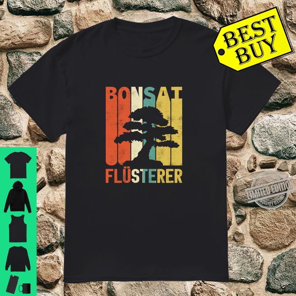 Retro Bonsai Flüsterer Baum Japan Geschenke Langarmshirt Shirt
