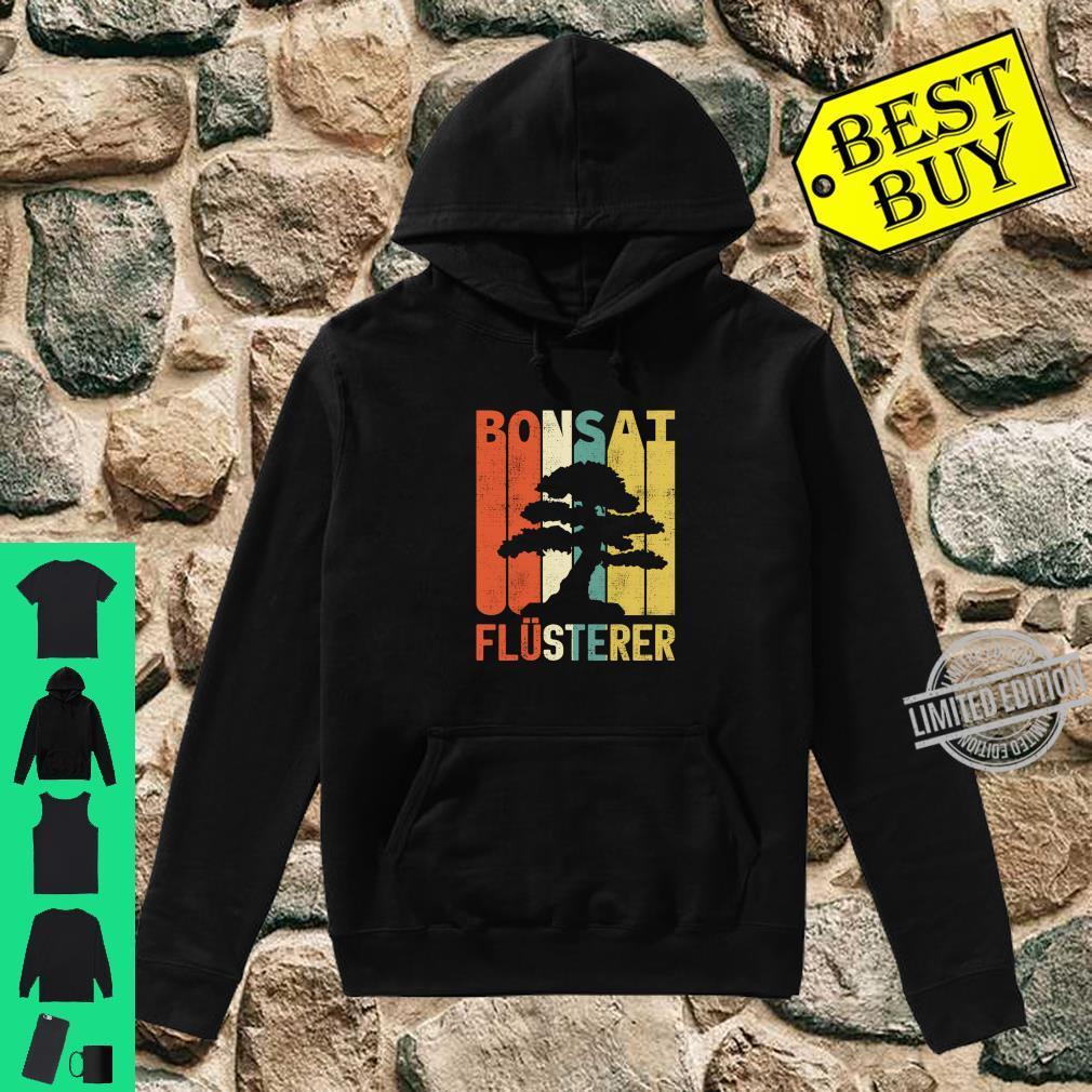 Retro Bonsai Flüsterer Baum Japan Geschenke Langarmshirt Shirt hoodie