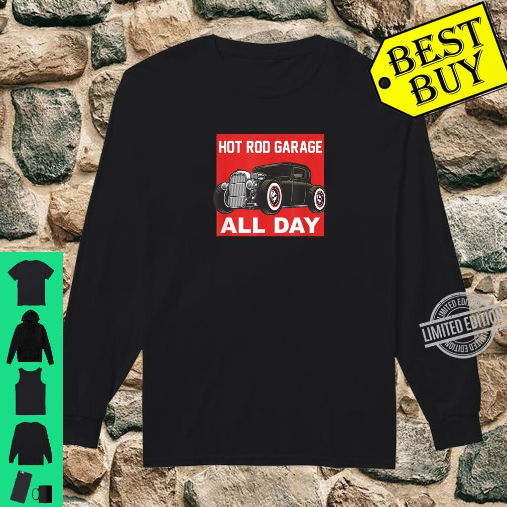 Retro Vintage Rat Rod Hot Rod Hotrod Boys Shirt long sleeved