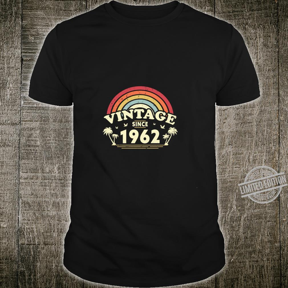 Vintage Since 1962, Birthday And, Retro Shirt