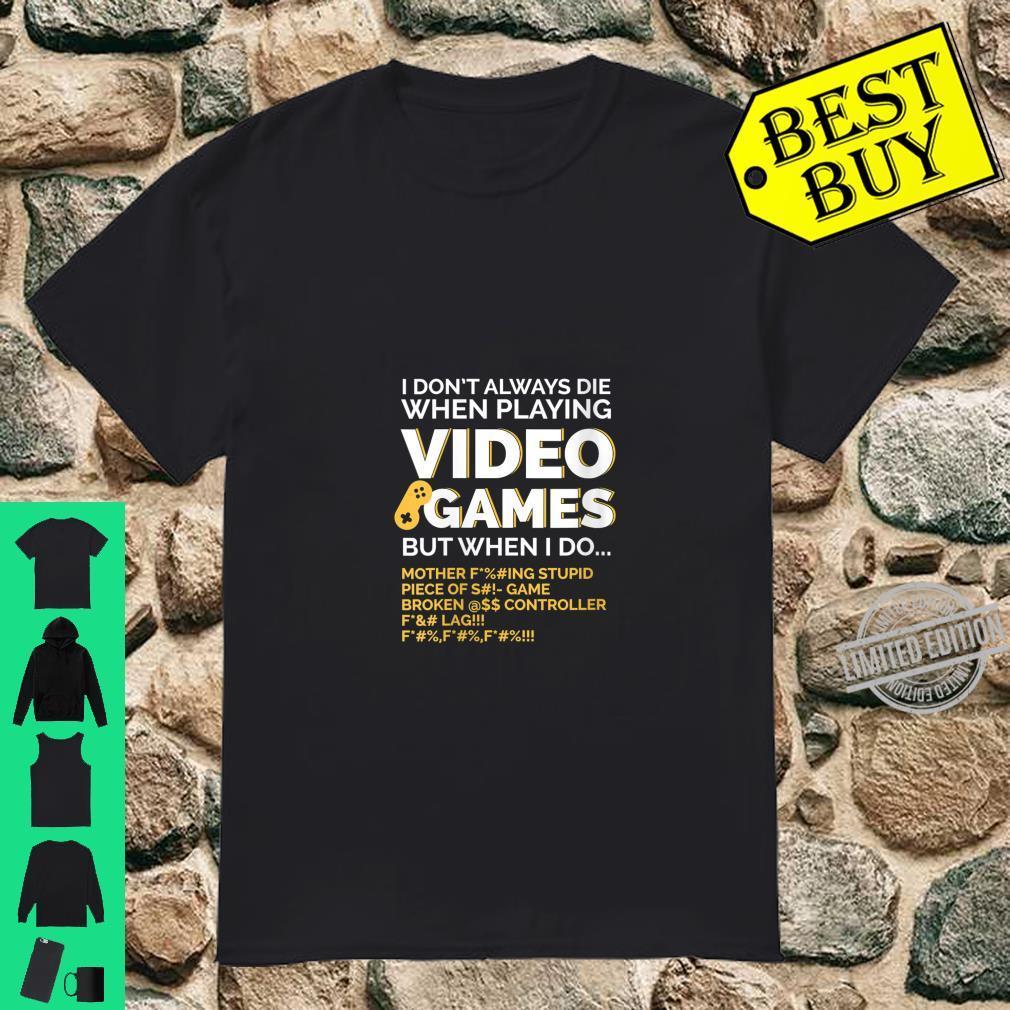 Womens Video Game Gaming,, Dad Shirt